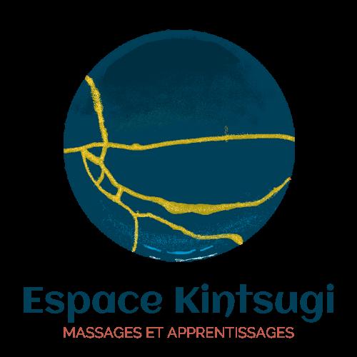 logo texte espace kintsugi fond transparent