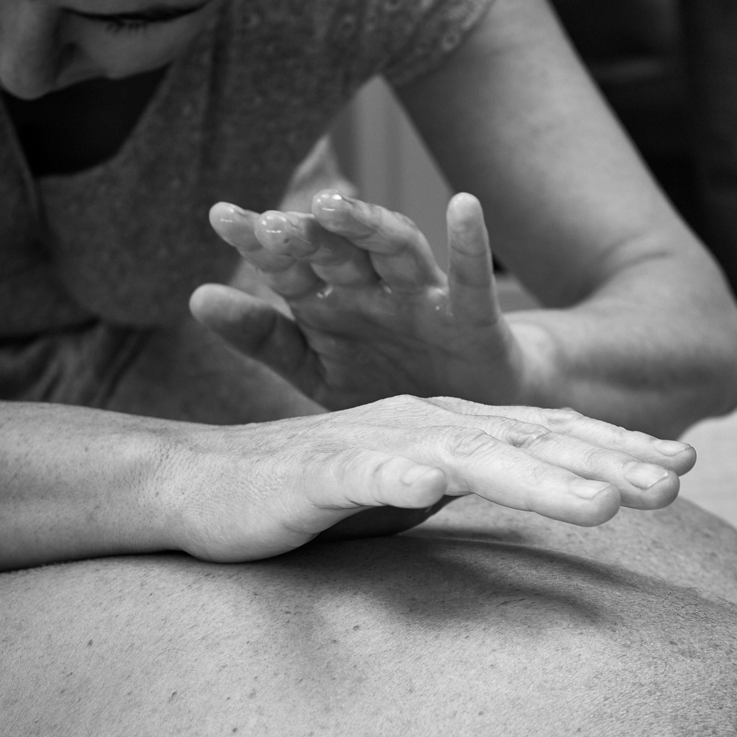 massage intuitif de bien etre